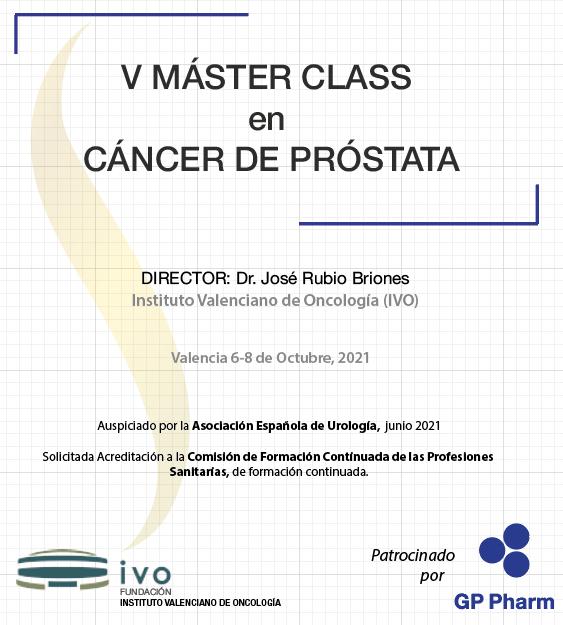Nova edició del V MásterClass en Càncer de Pròstata